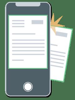 Mobile Anträge via Handy erfassen