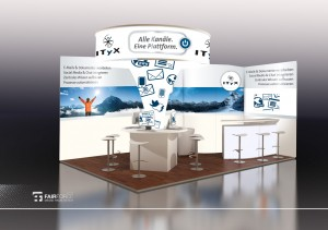 Call Center World 2012 - ITyX-Messestand in Halle 4 H8