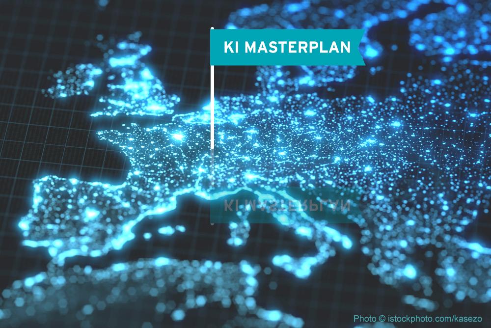 Merkels KI Masterplan