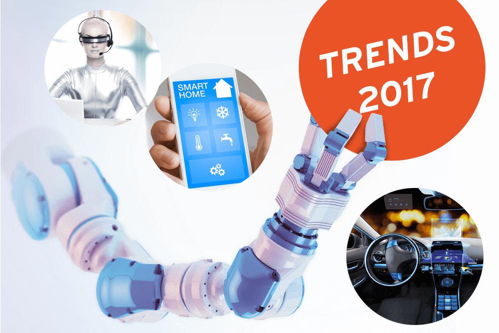 Künstliche Intelligenz und Robotics: Diese Trends beschäftigen uns auch 2017