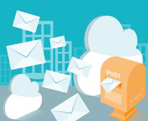 Wie funktioniert der digitale Posteingang in der Cloud?
